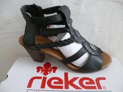 rieker sandalen schwarz damen g nstig online kaufen yatego. Black Bedroom Furniture Sets. Home Design Ideas