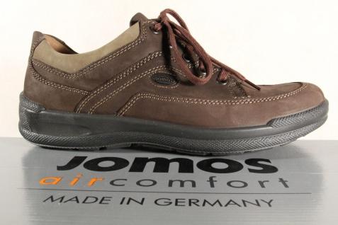 Jomos aircomfort Herren Schnürschuh Leder 419205 Sneakers Halbschuh braun Leder Schnürschuh NEU a479cb