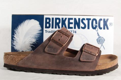 Birkenstock Herren Pantolette Pantoletten Clogs Clogs Clogs Echtleder braun 052531 NEU! 5bb124