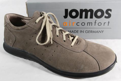 Jomos Leder Herren Schnürschuhe Halbschuhe Sneakers Leder Jomos grau NEU 6c59ae