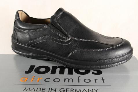 Jomos Slipper Halbschuhe Sneakers schwarz Leder NEU für lose Einlagen geeignet NEU Leder 3b2045