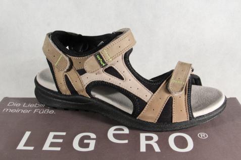 Legero Damen Sandalen Sandaletten Innenfußbett, beige, KV, bequemes Innenfußbett, Sandaletten NEU!! 768bf2