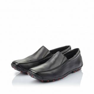 Rieker Herren Slipper Sneakers Sneaker Sportschuhe Leder schwarz 08960 NEU