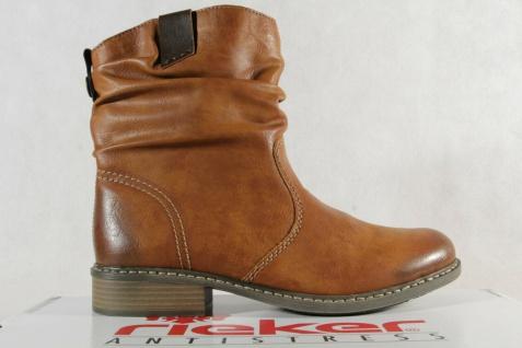 Rieker Stiefel Stiefelette Stiefeletten Boots Winterstiefel braun Z4180 NEU! - Vorschau 2