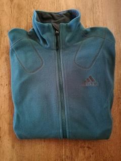 Adidas Fleecejacke Fleece Jacke Herren Sport türkis blau NEU