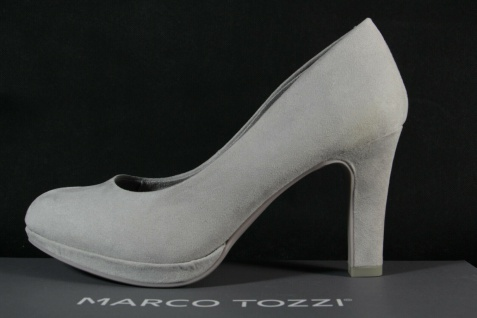 Marco Tozzi Damen Pumps Ballerina Slipper grau NEU! - Vorschau 2