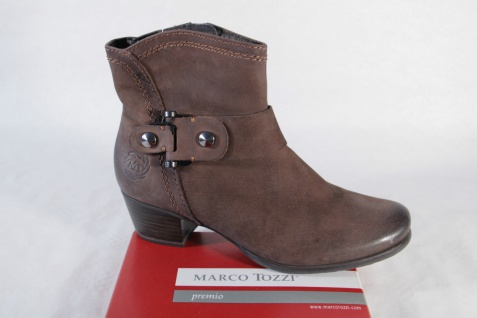 Marco Tozzi Damen Stiefel Stiefelette braun weiches Oberleder NEU!!