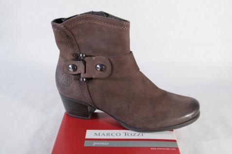 Marco Stiefelette Tozzi Damen Stiefel Stiefelette Marco braun weiches Oberleder NEU!! a20049