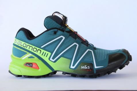Salomon 3 Sportschuhe Laufschuhe Halbschuhe Speedcross 3 Salomon grün/hellgrün 370762 Neu! f2c2b6