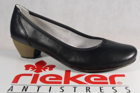 Rieker Antistress Pumps Ballerina Gr. 40 Rot Damen Schuhe