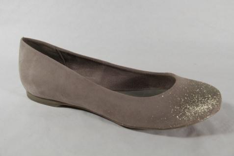 Marco Tozzi Ballerina 22104 Slipper Pumps beige/gold NEU! - Vorschau 5