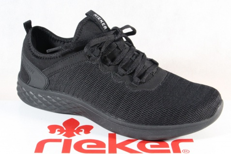 Rieker Halbschuhe Slipper Schnürschuhe Sneaker schwarz B9753 NEU!!
