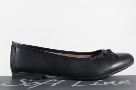 Soft Line Damen Slipper schwarz Ballerinas Ballerina schwarz Slipper NEU! 9f6c7d