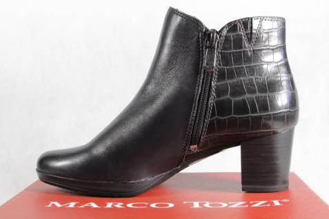 Marco Tozzi Stiefelette Stiefel Leder anthrazit/dunkelblau 25388 Schuhe NEU!! Beliebte Schuhe 25388 503196