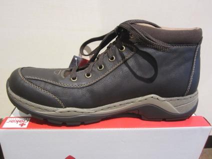Rieker Herren Stiefel Schnürstiefel, Boots Winterstiefel Schnürstiefel, Stiefel Tex, braun NEU Beliebte Schuhe d6d51e