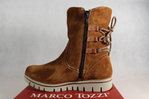 Marco leicht Tozzi Stiefel, Stiefelette, braun, leicht Marco gefüttert, 26804 Echtleder NEU!! d04c73