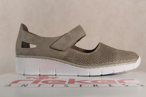 Rieker 53767 Sportschuhe Slipper Sneakers Halbschuhe Sportschuhe 53767 Ballerina beige NEU 409ee2