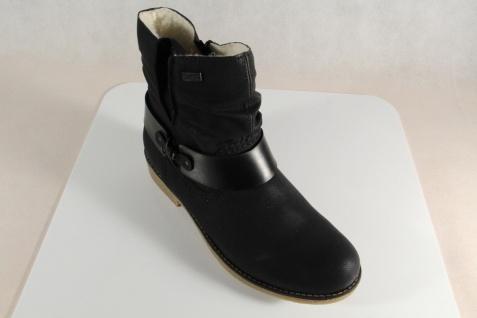 Rieker-Tex Damen Stiefel, Stiefelette schwarz Schurwollfutter 76736 Beliebte NEU Beliebte 76736 Schuhe ae349a