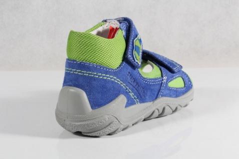 Superfit Neu LL-Sandale blau/grün KV Lederfußbett Neu Superfit !!! fa5b2a