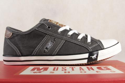 Mustang Schnürschuhe Sneaker Halbschuhe Sportschuhe grau 1099 1099 1099 NEU 8d9892