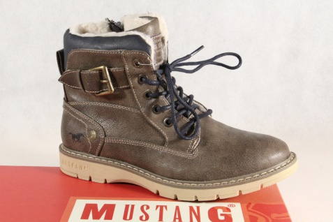 Mustang Stiefel Stiefeletten Boots Winterstiefel braun 5017 NEU!