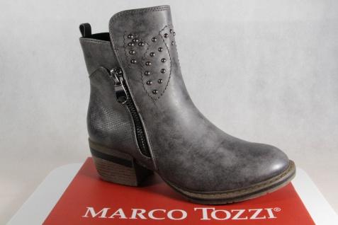 Marco Tozzi 25361 Stiefelette Stiefel, Stiefel grau, 25361 Tozzi NEU!! 8940c2
