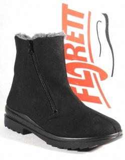 Florett Damen Stiefel Stiefeletten Winterstiefel Boots TEX schwarz Neu!
