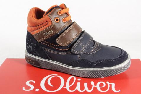 s.Oliver 35104 Tex Stiefel Stiefeletten Boots blau NEU!