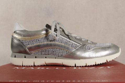 Marco Halbschuhe Tozzi Schnürschuhe Sneakers Halbschuhe Marco grau silber 23702 NEU! f90745