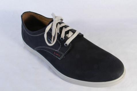 Jomos Herren schwarz Schnürschuhe Halbschuhe Sneaker Leder schwarz Herren NEU 476938