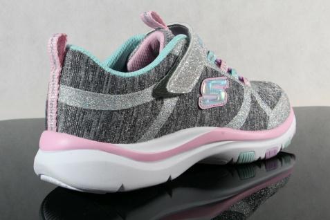 Skechers Sneaker Schnürschuh Sportschuh grau/ rosa Memory Foam NEU - Vorschau 4