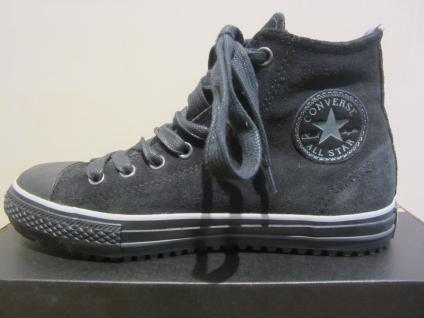 Converse Stiefel schwarz, zum Schnüren, schwarz, Stiefel Leder, Thermofutter NEU ae16dc