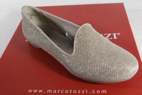 Marco Tozzi Slipper Pumps Ballerina Pumps Slipper gold NEU!! d8bfd0