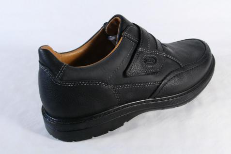 Jomos Wechselfußbett Slipper Halbschuhe schwarz Leder Wechselfußbett Jomos für Einlagen geeignet NEU be1d34