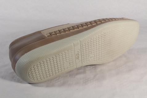 Rieker Slipper Halbschuhe Ballerina beige Sneaker Echtleder beige Ballerina NEU 977d4e