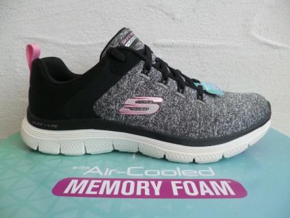 Skechers Damen Schnürschuhe Sneaker Sneakers Sportschuhe grau 149307 NEU!