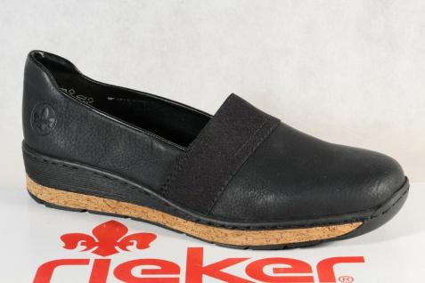 Rieker Slipper Sneakers Halbschuhe Sportschuhe Ballerina schwarz 59781 NEU
