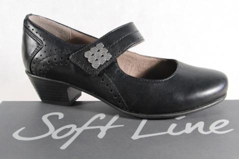 Soft Line by Jana Damen Pumps NEU! Slipper schwarz Weite H NEU! Pumps 343ca8