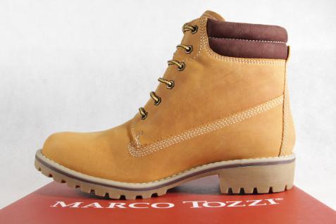 Marco Tozzi Stiefel 26248 Damen Stiefel, Stiefelette, Stiefel Tozzi Echtleder gelb NEU! e13fe0