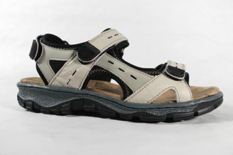 Rieker Damen Sandale Sandalen, Sandalette Sandaletten beige Leder NEU!! - Vorschau 2