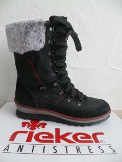 Rieker Damen Winterstiefel Stiefel Stiefel Stiefelette Winterstiefel Damen schwarz K4372 NEU aeffcb
