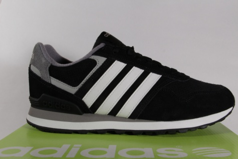 Adidas AW4678 RUNEO 10K NEU! Sportschuhe Turnschuhe Sneaker schwarz/weiss NEU! 10K Beliebte Schuhe ceb76d