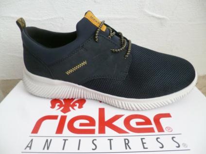 Rieker Herren Slipper Sneaker Halbschuhe Sneakers blau B7471 NEU