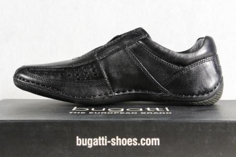 Bugatti Slipper Sportschuhe Halbschuhe Sneaker Sportschuhe Slipper schwarz, Echtleder NEU e36b85