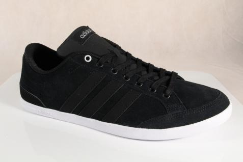 Adidas Schnürschuhe Sneakers Halbschuhe Sportschuhe CAFLAIRE Leder schwarz NEU! - Vorschau 4
