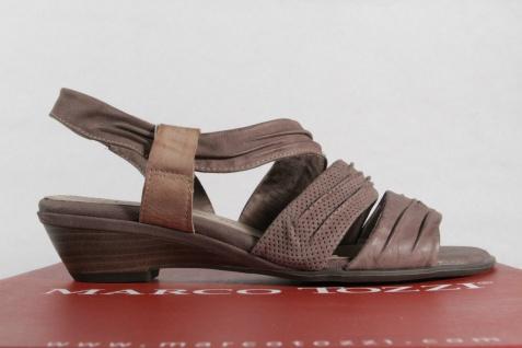 Marco Tozzi Damen Sandalen Sandaletten NEU!! Echtleder pfeffer NEU!! Sandaletten 9de830