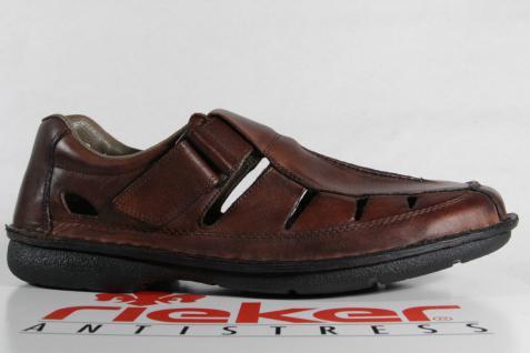 Rieker Slipper Lederinnensohle Sneakers Halbschuhe braun weiche Lederinnensohle Slipper NEU b90d65