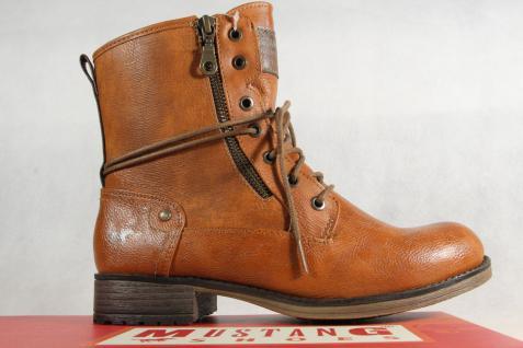 Mustang Stiefel Stiefel Stiefeletten Schnürstiefel Stiefel Stiefel braun 1139 NEU! 3cf0d1