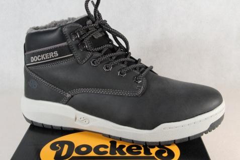 Dockers Herren Stiefel Boots Winterstiefel schwarz 43MR105 NEU!