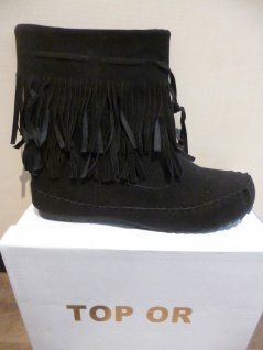 Top Or Damen Stiefel Stiefelette Boots Winterstiefel schwarz NEU! SP.19, 00 € - Vorschau 4